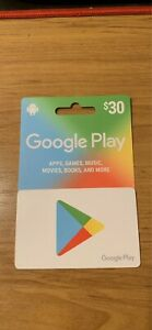 Google play card for sale