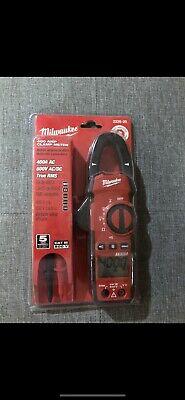 Milwaukee 2235-20 400-amp 600vs General Purpose Thin Jaw Clamp Meter - Brand New