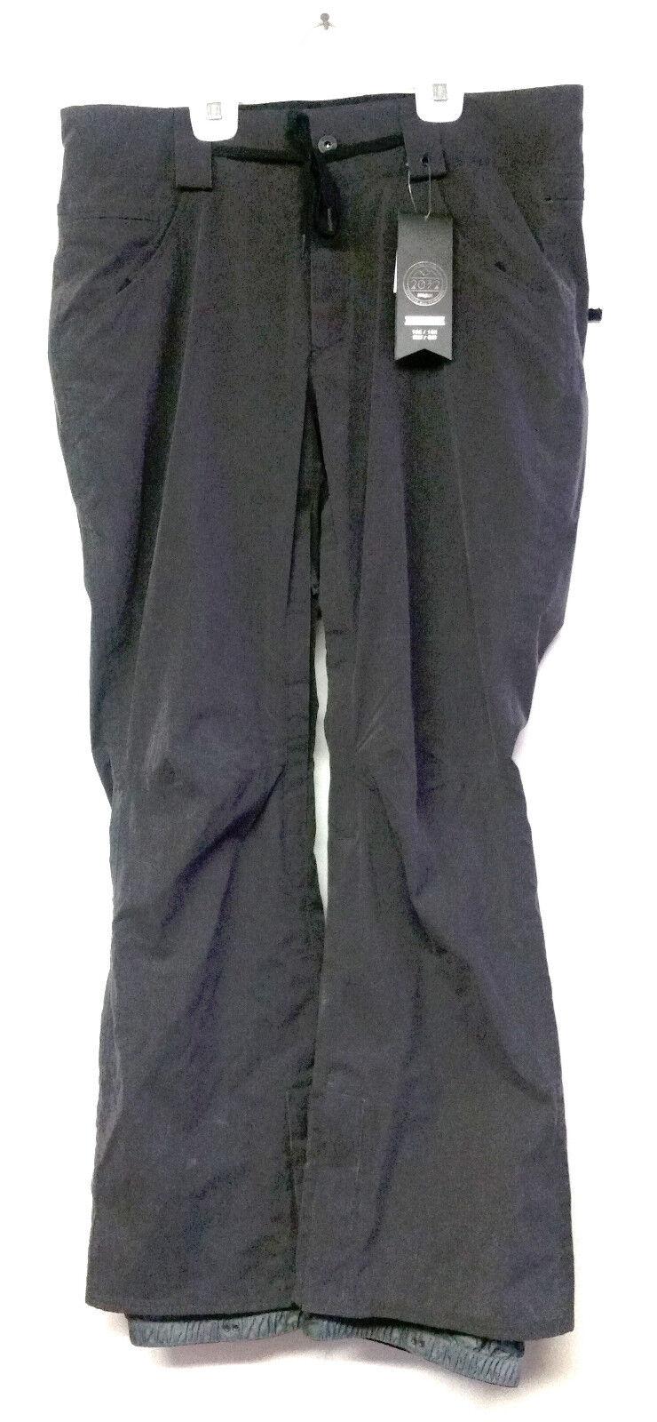 THIRTYTWO Men's WOODERSON Snow Pants - Black Wash - XL - NWT