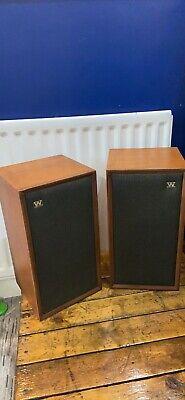 Wharfedale Super Linton Vintage Speakers. Vintage Hi Fi Speakers Teak Speakers