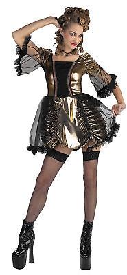 Marie Antoinette Adult Women's Costume Sexy Metallic Skirt Fancy Dress Disguise](Marie Antoinette Fancy Dress Costumes)