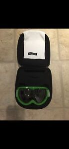 Electric Snowboard Googles - Lime Green
