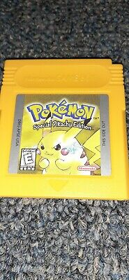 Game Boy Pokemon Yellow Special Pikachu Edition *Authentic*