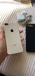 iPhone 8 Plus, like new in warranty