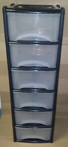 NEW-PRODUCT-DEEP-PLASTIC-DRAWERS-6-HIGH-KITCHEN-BEDROOM-GARAGE-MADE-IN-UK