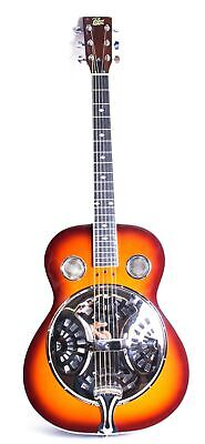 Rogue Classic Spider Resonator Guitar Sunburst Roundneck
