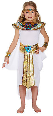 Girls Egyptian Fancy Dress Child Dressing Up World Book Day Outfit Age 4-12 - Girls Egyptian Costumes