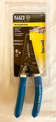 Klein Tools 11054 Wire Strippercutter With Closing Lock