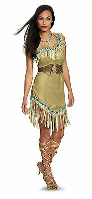 Adult Pocahontas Costume Disney Princess Costume Indian Princess 88923](Disney Princess Dresses Adult)