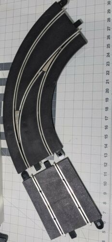Scalextric Sport Digital lane changer turn out to in right + sensor track