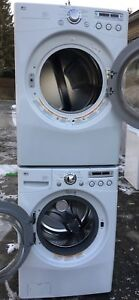 LG TROMM FRONTLOAD WASHER DRYER STACKABLE