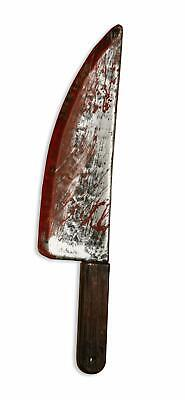 Bloody Knife Prop (Bloody Weapon Horror Plastic Knife Scary Costume Accessory Costume)