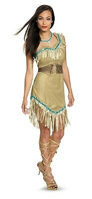 Adult Disney Deluxe Pocahontas Costume  (Pocahontas Adult Costumes)