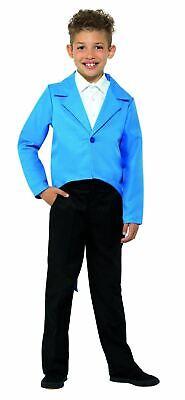 Boys Tailcoat Costume Kids Ringmaster Fancy Dress Outfit Showman Circus Girls (Girl Ringmaster Costume)