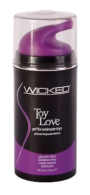 Wicked Toy Love - Toy Lubricant - 3.3oz Water Based - Love Lube
