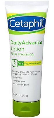 Dailyadvance Ultra Hydrating Lotion - Cetaphil DailyAdvance Ultra Hydrating Lotion for Dry/Sensitive Skin 8 oz (3pk)