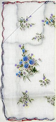 Ladies Womens Cotton Handkerchiefs 2 Pack  FREE Shipping USA SELLER