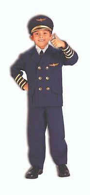 Forum Neuheiten Fluglinie Flugzeug Piloten Kapitän Kinder Halloween Kostüm - Flugzeug Piloten Kostüm Kinder