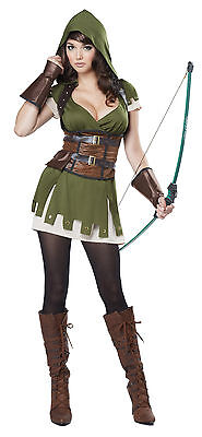 Adult Lady Robin Hood Renaissance Womens Costume