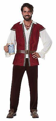 Adult Medieval Man Renaissance Tavern Costume  (Tavern Man Costume)