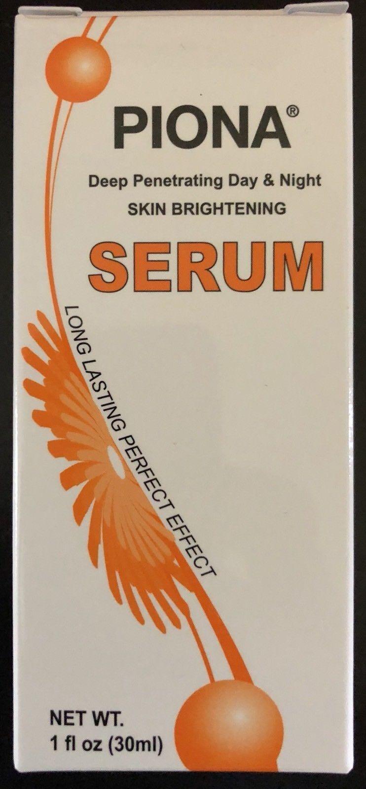 Piona Deep Penetrating Day & Night Skin Brightening Serum 1oz Health & Beauty