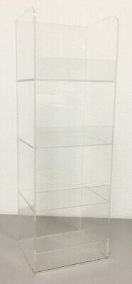 Acrylic Convenience Store Counter Top Display Case 6x 5x 18 Display Box Clear