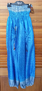 Handcrafted 100% Silk Karma Design pants Brinsmead Cairns City Preview