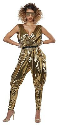 70's Glitz N Glamour Funky Disco Adult Women - 70s Costumes For Women
