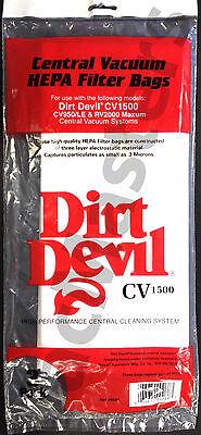 Vacuflo Dirt Devil 9597 vacuum replacement filter bags 3/PK,