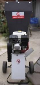 Excellent condition - Detuscher 560 Model Chipper/Shredder