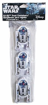 3x Disney Star Wars R2-D2 Figural Easter Eggs Treat Container Party Favor - Easter Eggs Star Wars
