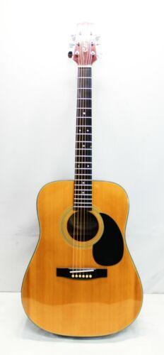 Carlos Model 438 6-String Ambidextrous Acoustic Guitar Dreadnaught - Natural