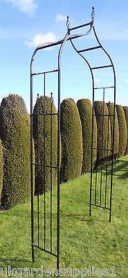 Widdale Garden Arch  -  Metal  Garden Archway