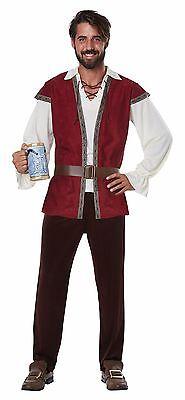 Medieval Man Tavern Renaissance Men Adult Costume (Tavern Man Costume)