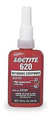 Loctite 620 442-62040 50ml Retaining Compound, High Temperature, Green Color