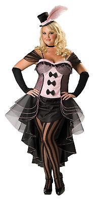 Burlesque Babe Adult Plus Womens Costume Cascade Dress Hat Gloves Halloween Xxl](Burlesque Babe Costume)
