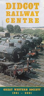 (91803) Didcot Railway Centre 2001 Brochure on Lookza