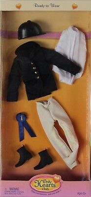 NEW Only Hearts Club Ready to Wear Black English Riding Outfit 213 (Black English Riding Outfit)