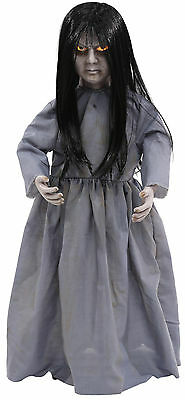 HALLOWEEN LIL SWEET VENGEANCE GIRL ZOMBIE SOUND  PROP DECORATION HAUNTED HOUSE   - Zombie Halloween Sounds