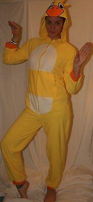 ,Teens,Unisex,Duck jumpsuit all in one adult fancy dress.S-L (Teen Onesies)