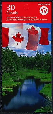 Canada 2193b Booklet BK342 MNH Flags, Polar Bears, Lighthouse, Sirmilik Park