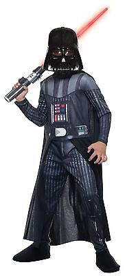 Rubies Star Wars Darth Vader Photo Realistic Child Boys Halloween Costume - Realistic Darth Vader Costume