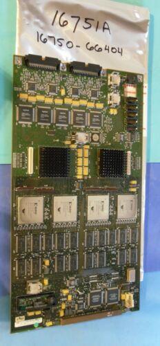 16751A 400MHz 68 Channel Logic Analyzer - 16750-66404