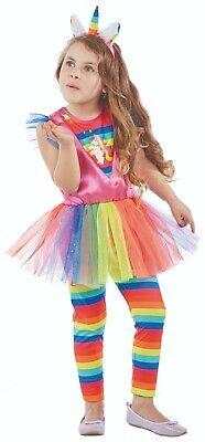 Rubies 12232 - Einhorn, Regenbogen Pferd, Kinder Kostüm, - Kinder Kostüme Pferd