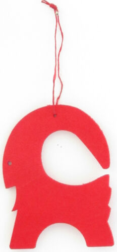 SCANDINAVIAN SWEDISH NORWEGIAN DANISH FINNISH RED CHRISTMAS GOAT JULBOCK SWEDEN
