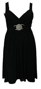NEW LADIES PLUS SIZE EVENING DRESS BUCKLE WOMENS LONG ELEGANT COCKTAIL 16 - 26