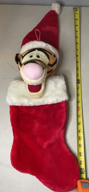 Disney Tigger 3D Christmas Stocking