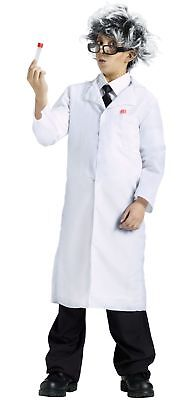Boys Child Mad Scientist Dr. Doctor White Lab Coat Costume](Kids Dr Coat)