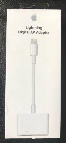 Genuine Apple MD826AM/A Lightning Digital AV Adapter iPhone iPad