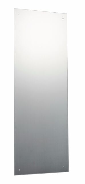120 X 45cm Frameless Bathroom Mirror Pre Drilled Holes Wall Hanging Fixings